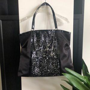 Large sparkling tote / overnight bag 😎